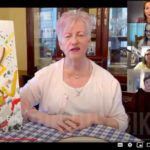 Artist Anne Nordhaus-Bike in video about her Broken Home mixed media art piece